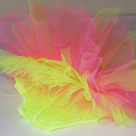 Tropical childs tutu
