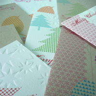 8 x Christmas Cards Small