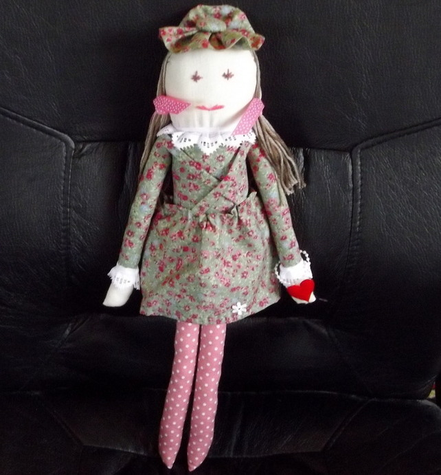 RAG DOLL'ROSE'