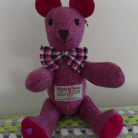Harris Tweed Teddy Bear