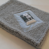 Sale - Small Personalised Dog Blanket 70cm x 75cm