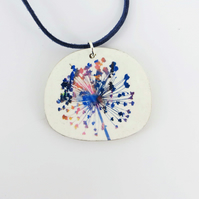 Colourful Botanical Pendant