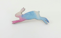 Hare and Rabbit Brooches