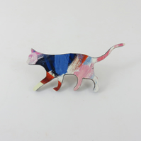 Stalking Cat Brooch