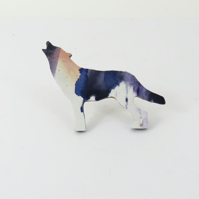 Dog or Wolf Brooch