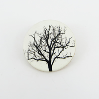 Winter Tree Brooch