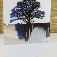Artistic Tree Greeting Card
