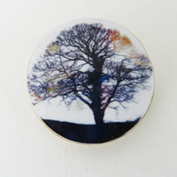 Majestic Tree Brooch