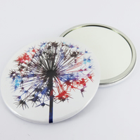 Flower Handbag Mirror