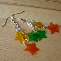Citrus Stars Cascade Earrings