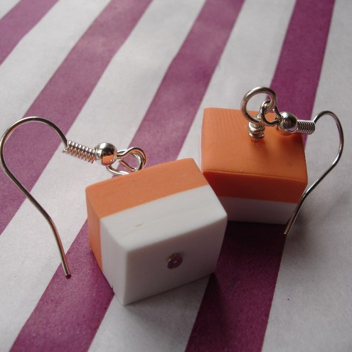 Orange Dolly Mixture Earrings