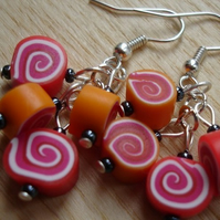 Dinky Candy Swirl Earrings