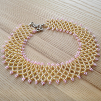 Candy Woven Bead Necklace