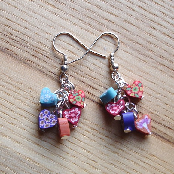 Dinky Hearts Earrings