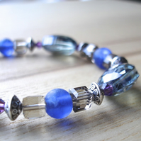 Greek Sparkle Bead Bracelet