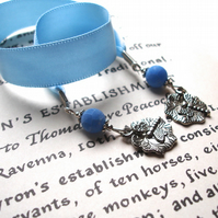Turquoise Dragonfly Bookmark