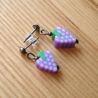 Grapes Stud Earrings