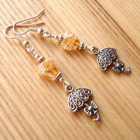 Umbrella Charm Earrings