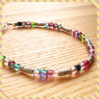Multicolour Bead Bracelet