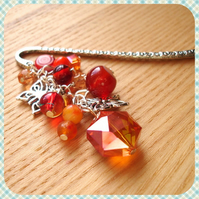 Butterfly Bead Cluster Bookmark