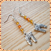 Citrus Kitty Cat Earrings