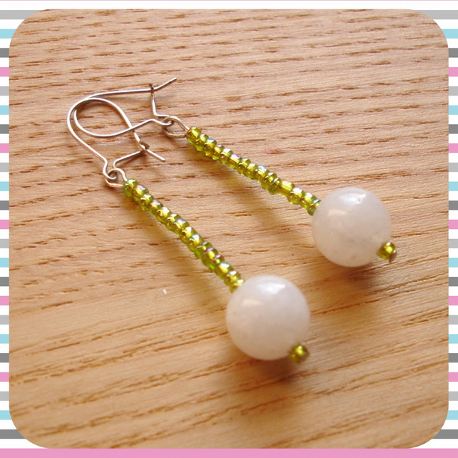 Stock Clearance - Acrylic Bead Earrings