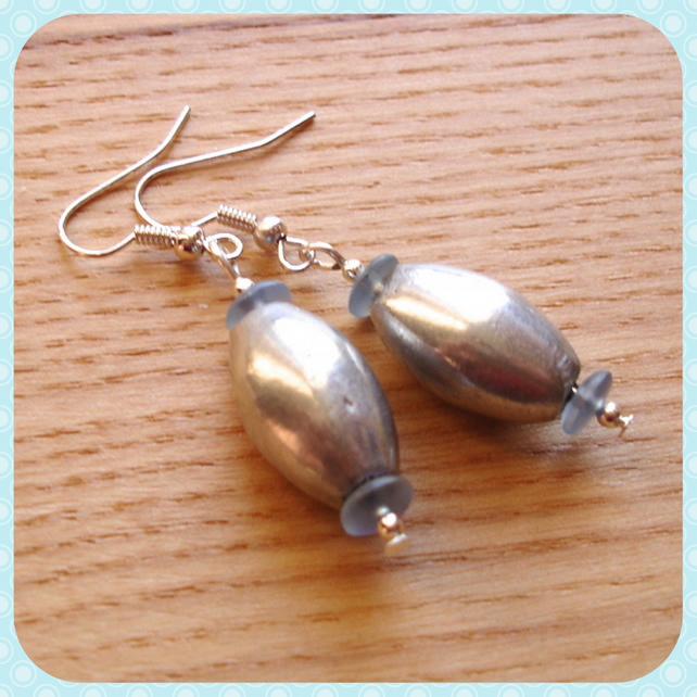 Stock Clearance - Metal Bead Earrings