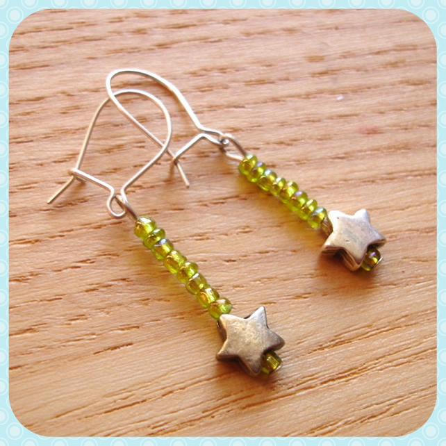 Stock Clearance - Star Earrings