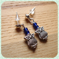Teeny Owl Studs Earrings Jewellery