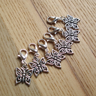 Butterfly Crochet Stitch Markers, Gift for Nature Lovers