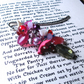 Bookmark Pink Bead Cluster - Fashion Accessories - Valentine Hearts