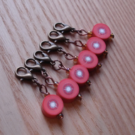 Cute Tomato Crochet Stitch Markers