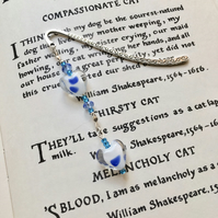 Spotty Hearts Bookmark, Gift for Her, Mothers Day