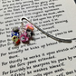Polymer Clay Animal Cluster Bookmark, Gift for Her, Mothers Day