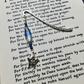 Blue Butterfly Bookmark, Gift for Her, Mothers Day