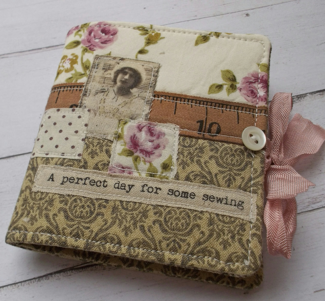 Handmade Sewing Needle Case - Gift Boxed