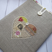 Linen Kindle Fire Case