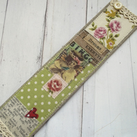 Linen Bookmark Gift Boxed