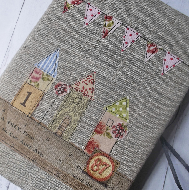 A5 Linen Notebook Cover