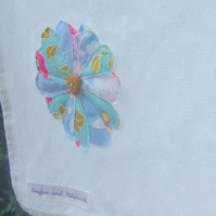 Tea Towel - Heart Flower