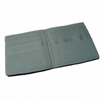 Plain Smoke Grey Mens Wallet