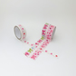 Hearts and Bows adhesive tape - 3 rolls