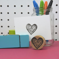 Personalised Heart Stamp