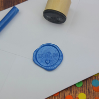 Handmade Personalised Date Wax Seal