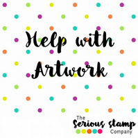 Help making artwork for a Personalised Stamp