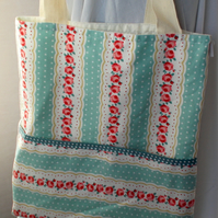 Lovely handmade tote bag