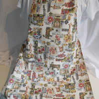 Hand made full apron ideal for a garden lover
