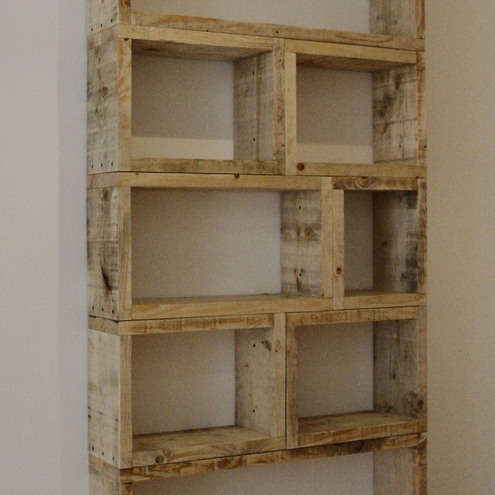 Reclaimed Timber Shelving Unit Folksy