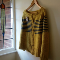 PATTERN ONLY Boat Neck Cardigan