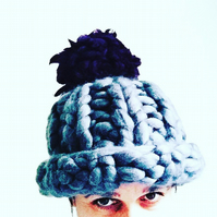 Funky Giant Knit Hat